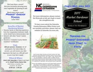 Market Gardener School Brochure 1