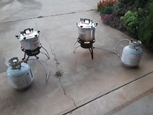 Image of propane and canners