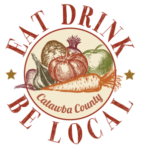 Eat, Drink, and be Local logo image