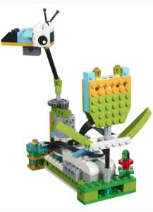 Image of a logo robot